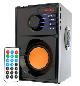 GŁOŚNIK BLUETOOTH STEREO + SUBWOOFER MP3 AUX USB